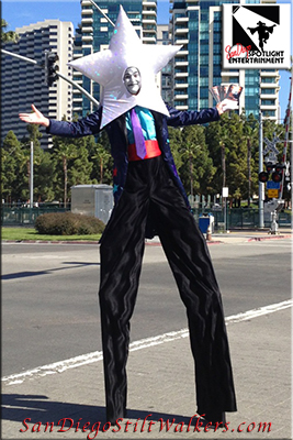 stilt walkers star is born